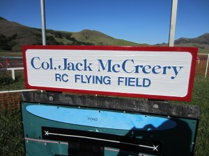 Col. Jack McCreery sign