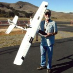 Dave with his FPV Plane